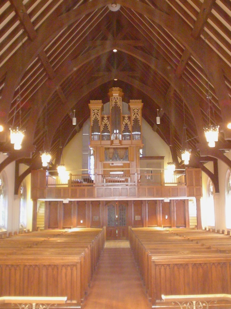 St. John's Episcopal Church, Lynchburg, Virginia:  Richard Howell organ